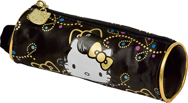 Picture of HELLO KITTY GOLD PERNICA PRAZNA OKRUGLA