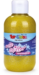 Slika od TOY COLOR TEMP. GLITTER ŽUTA 250 ML