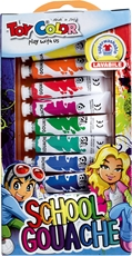 Slika od TOY COLOR tempera boje 7,5 ml 1-12