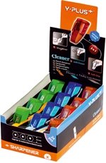 Picture of PENCIL SHARPENER with a rubber band- the exhibition box 24 PCs