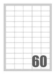 Slika od SAMOLJEPLJIVE etikete Megastar 37,5x23,5 mm – 60 na listu