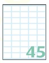 Slika od EXPORT samoljepljive etikete 22x14