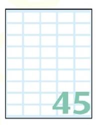Slika od SAMOLJEPLJIVE etikete Export 22x14 mm – 10 listova, 45 na listu