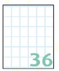 Slika od SAMOLJEPLJIVE etikete Export 23x18 mm – 10 listova, 36 na listu