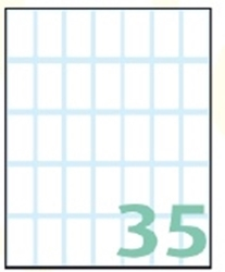 Slika od EXPORT samoljepljive etikete 28x15