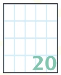 Slika od EXPORT samoljepljive etikete 36x22