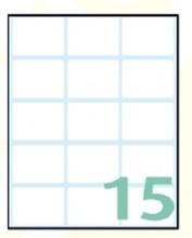 Slika od EXPORT samoljepljive etikete 38x25