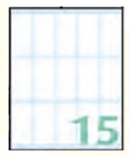 Slika od EXPORT samoljepljive etikete 46x22