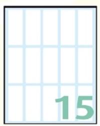 Slika od EXPORT samoljepljive etikete 48x20