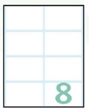 Slika od EXPORT samoljepljive etikete 58x36