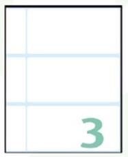 Slika SAMOLEPILNE ETIKETE EXPORT 100X48 MM-10 LISTOV, 3 NA LISTU