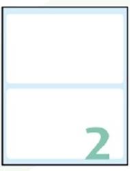 Slika od EXPORT samoljepljive etikete 118x70