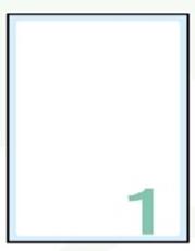 Slika SAMOLEPILNE ETIKETE EXPORT 150X115-10 LISTOV, 1 NA LISTU