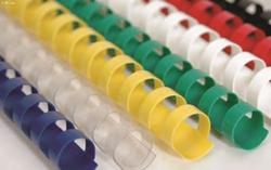Slika od PLASTIČNA SPIRALA za uvez 15 mm – bijela