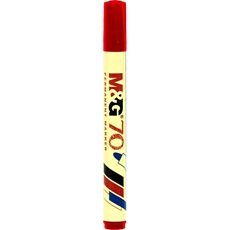Picture of M&G 70 PERMANENT MARKER RED 1/12