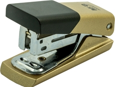 Picture of M&G MINI STAPLER GOLD 24/6; 26/6