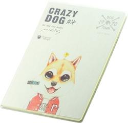 Slika od BILJEŽNICA B5 CRAZY DOG