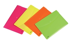 Picture of FAVORIT NEON FOLDER WITH BUTTON A4