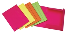 Picture of FAVORIT NEON FOLDER WITH A RUBBER BAND
