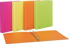 Picture of FAVORIT NEON FOLDER 4 RINGS D15