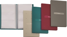 Picture of FAVORIT MATRIX BUSINESS CARD FOLDER RED