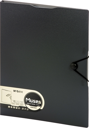Picture of M&G MUSES DISPLAY BOOK A4 40 POCKETS