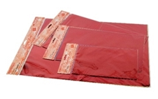 Picture of RED CELLOPHANE BAG 15x25 CM - 1/100