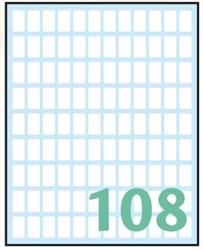 Picture of WHITE samoljepljive etikete 14x8