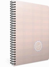 Picture of SMOOTH SPIRAL NOTEBOOK 19x26 SQUARED