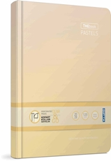 Picture of THE BOOK PASTELS PLANNER/NOTEBOOK 14x20 CM