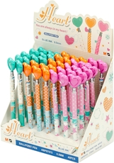 Picture of M&G HEART BALL POINT PEN 1/40