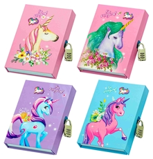 Picture of BE MAGICAL MEMORIES NOTEBOOK WITH BOX AND LOCK 20,6x14,6 CM