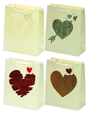 Picture of HEART GIFT BAG MEDIUM