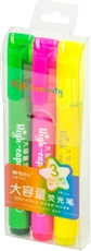 Picture of M&G HIGH CAPACITY FLUORESCENT HIGHLIGHTER 1/3