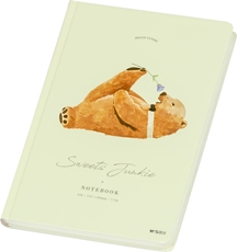 Picture of M&G PLANNER/NOTEBOOK SWEET JUNKIE BEAR 12,5x18 CM