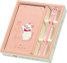 Picture of PLANNER WITH PEN CAT