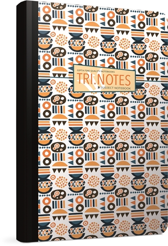 Picture of TRI NOTES SPIRAL NOTEBOOK 19x26 CM SQUARED - 3 SUBJECT