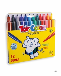 Picture of TOY COLOR JUMBO superwashable Color Pen 1-12
