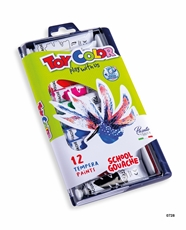 Slika od TOY COLOR tempera boje 12 ml 1-12