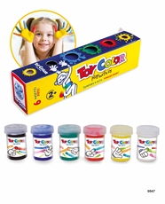 Slika od TOY COLOR TEMPERA ZA PRSTE 25 ML 1/6