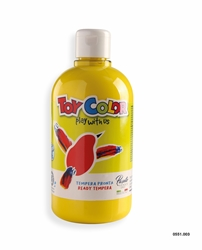 Picture of TOY COLOR tempera 500 ml yellow