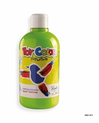 Picture of TOY COLOR tempera 500 ml light green