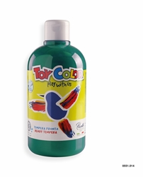Picture of TOY COLOR tempera 500 ml dark green