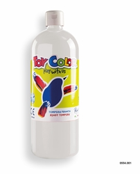 Picture of TOY COLOR tempera 1000 ml white