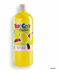 Picture of TOY COLOR tempera 1000 ml yellow
