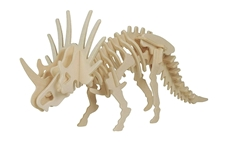 Picture of STYRACOSAURUS 3D WOODEN PUZZLE