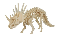 Picture of STYRACOSAURUS 3D DRVENE PUZZLE