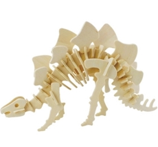 Slika od STEGOSAURUS 3D DRVENE PUZZLE