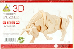 Picture of BIK 3D DRVENE PUZZLE