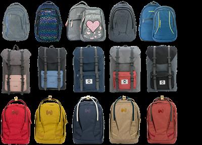 Slika za kategorijo Šolske torbe in nahrbtniki